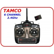 tamco 6 channel 2.4ghz rc transmitter set