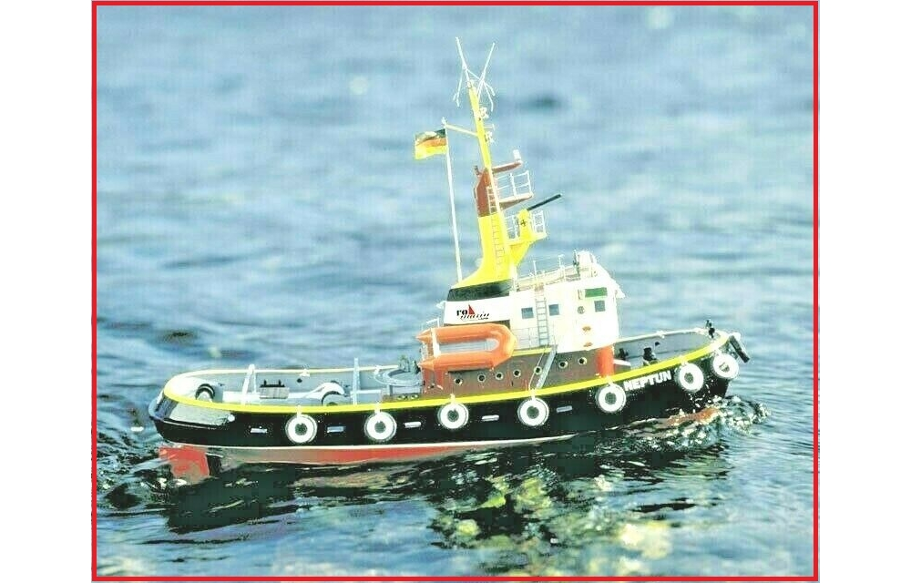 krick neptun tug boat kit including fittings 1:50 scale