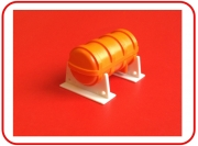 liferaft canister & stand