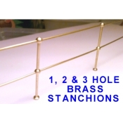 brass handrail stanchions